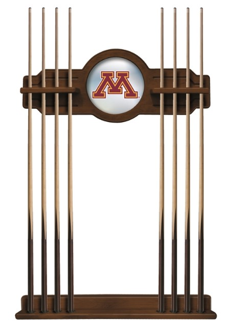 8 cue rack with logo