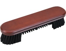 Table brush shown in chocolate